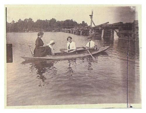 Historique du lac Charlebois