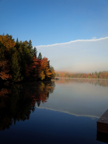 Lac Charlebois matin 2016-10-07